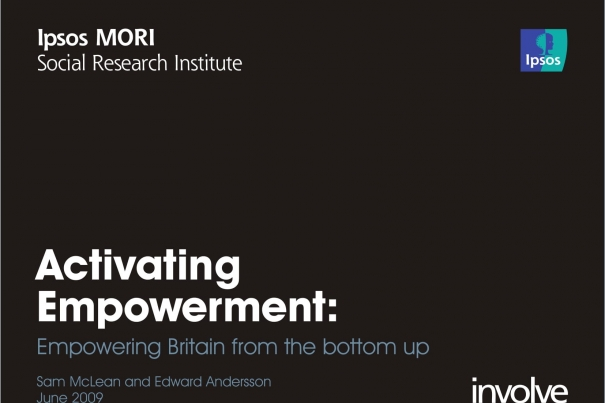 Activating Empowerment: Empowering Britain from the bottom up