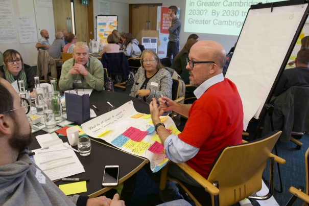 How to hold a citizens' assembly – the Greater Cambridge experience