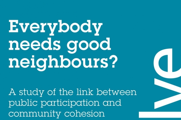 Everybody Needs Good Neighbours?