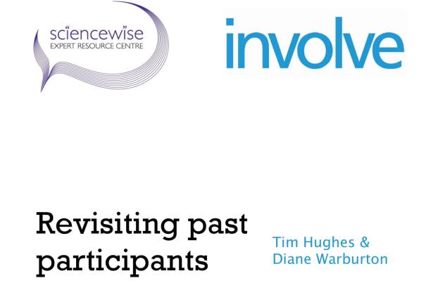 Revisiting past participants