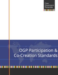OGP Participation & Co-Creation Standards