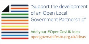 Support the development of an Open Local Government Partnership
